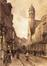 La rue de la Madeleine vers 1900<br>Elle, Edouard
