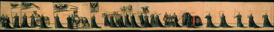 Pompe funèbre de Charles Quint à Bruxelles en 1558