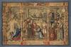 Légende de Notre-Dame du Sablon : la statue de Notre-Dame est conduite à l'église du Sablon<br>Anonyme / Anoniem,  / van Orley, Bernard