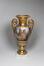Vase ovoïde avec une vue sur la cathédrale Saints-Michel-et-Gudule<br>Jacquet, Maximilien-Joseph / Nedonchelle, L.