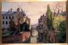 Le pont des Vanniers dit 'Manne Brugge'<br>Van Moer, Jean-Baptiste