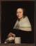 Portrait d'une femme qui met ses gants<br>Beeldemaeker, Adriaen Cornelisz