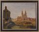 L'église Saint-Joseph en 1847 sur le terrain du futur quartier Léopold<br>Van Moer, Jean-Baptiste
