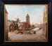 La place de la Grue et le bassin Sainte-Catherine<br>Van Den Bossche, H.