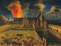 Incendie du palais ducal (1674) au Coudenberg<br>van Auwerkerken, Gillis