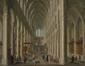Intérieur de la cathédrale des Saints-Michel-et-Gudule<br>Anonyme / Anoniem,