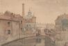 La Senne près du moulin de Bon Secours<br>Van Moer, Jean-Baptiste
