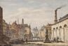La Senne depuis le pont Saint-Jean Népomucène<br>Vervloet, Victor