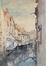 Vue de la Senne depuis le pont du Miroir<br>Van Moer, Jean-Baptiste