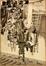 Restauration de la girouette de saint Michel descendu de la tour de l'Hotel de Ville<br>Gailliard, Franz