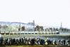 Inauguration du premier chemin de fer belge à l'allée Verte<br>Anonyme / Anoniem,