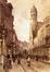 La rue de la Madeleine<br>Elle, Edouard