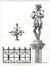 48 dessins des statuettes du square du Petit Sablon<br>Lyr, Claude