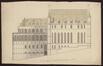 Le palais des ducs de Brabant : la Magna Aula et la chapelle, côté rue Isabelle