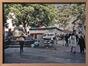 Un marché, place de l'Agora<br>Galopin, M