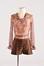 Ensemble blouse, short et bottes<br>