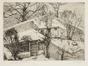 Jardins dans la neige<br>Delescluze, Edmond