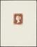 Timbre à l'effigie de la reine Victoria<br>Delescluze, Edmond
