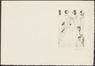 Carte de voeux 1946<br>Delescluze, Edmond
