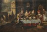 Le repas du mauvais riche<br>Francken,  Frans II