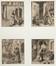 Images de saints et de saintes issus de la famille de l'Empereur Maximilien Ier<br>Beck d'Augsbourg, Leonhard  / Springinklee, Hans  / Burgkmair, Hans