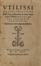 Consultatio de bello Turcico • Epistola Erasmi Hectori Boeotio (Index omnium Erasmi lucubrationum)<br>