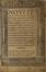 Nouum Testamentum ab Erasmo recognitum • Pio lectori [Quod apud Matthaeum dominus] • Epistola de philosophia eua ...<br>