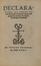 Declarationes ad censuras Lutetiae vulgatas sub nomine facultatis theologiae Parisiensis (éd. augmentée)<br>