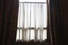 Onderste raam gordijn© Autrique Huis