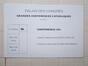 Carton d'invitation - Grandes conférences catholiques asbl<br>Schuiten, Francois