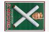 Affiche publicitaire pour les cigarettes Saint-Michel<br>Imprimerie J.E. Goossens S.A. (Bruxelles),  / Atelier Delamare et Cerf (Bruxelles),