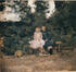Deux fillettes sur un banc<br>Degreef, Jean-Baptiste (Jean)