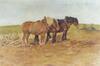 Trois chevaux au labour<br>De Clerck, Antoon