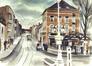 Carrefour chaussée de Wavre et boulevard du Souverain<br>Gilbert, Willy