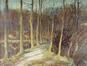 Chemin dans la forêt<br>Houyoux, Léon