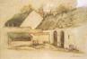 Coin de ferme à Rouge-Cloître<br>Marlier, Marcel