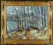 Un étang dans la forêt<br>Keller, Adolphe