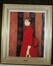 Jeune fille en robe rouge<br>Van Rysselberghe,  Théo