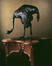 Grande autruche baissant la tête<br>Bugatti, Rembrandt / Hébrard, Adrien-Aurélien