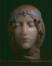 Masque de Cléo de Mérode (blonde)<br>Despret, Georges