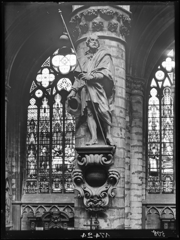 Saint Jacques le Majeur© KIK-IRPA, Brussels, 1918