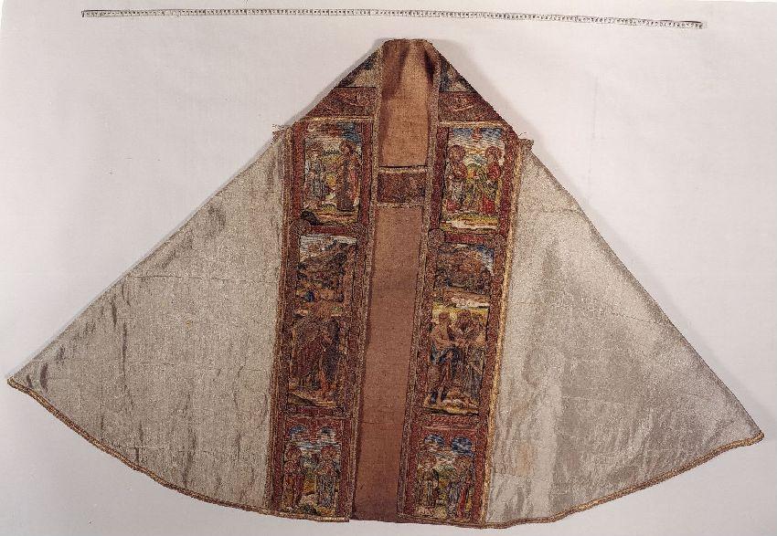 Koorkap met het verhaal van Sint Jan-de-Dooper© KIK-IRPA, Brussels, 2000