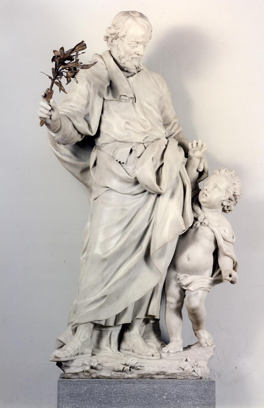 Saint Joseph et l'Enfant Jésus© KIK-IRPA, Brussels, 1996