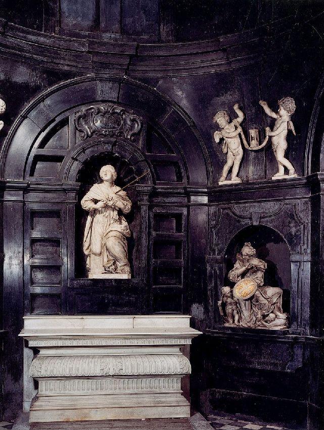 sculptures de la Chapelle de Tour et Taxis© KIK-IRPA, Brussels