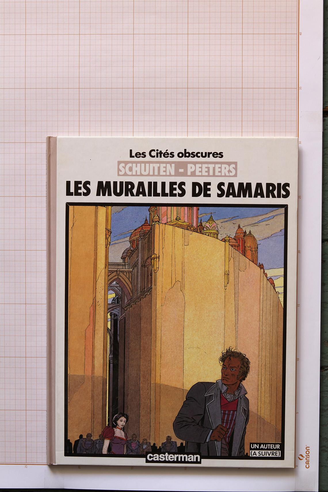 Les Murailles de Samaris, F.Schuiten & B.Peeters - Casterman© Maison Autrique, 1985