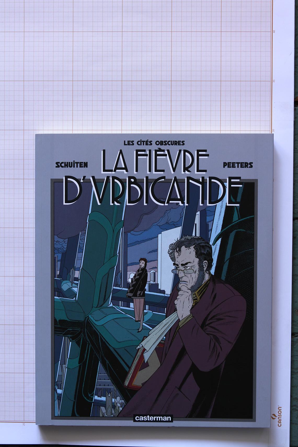 La Fièvre d'Urbicande, F.Schuiten & B. Peeters - Casterman© Maison Autrique, 2012