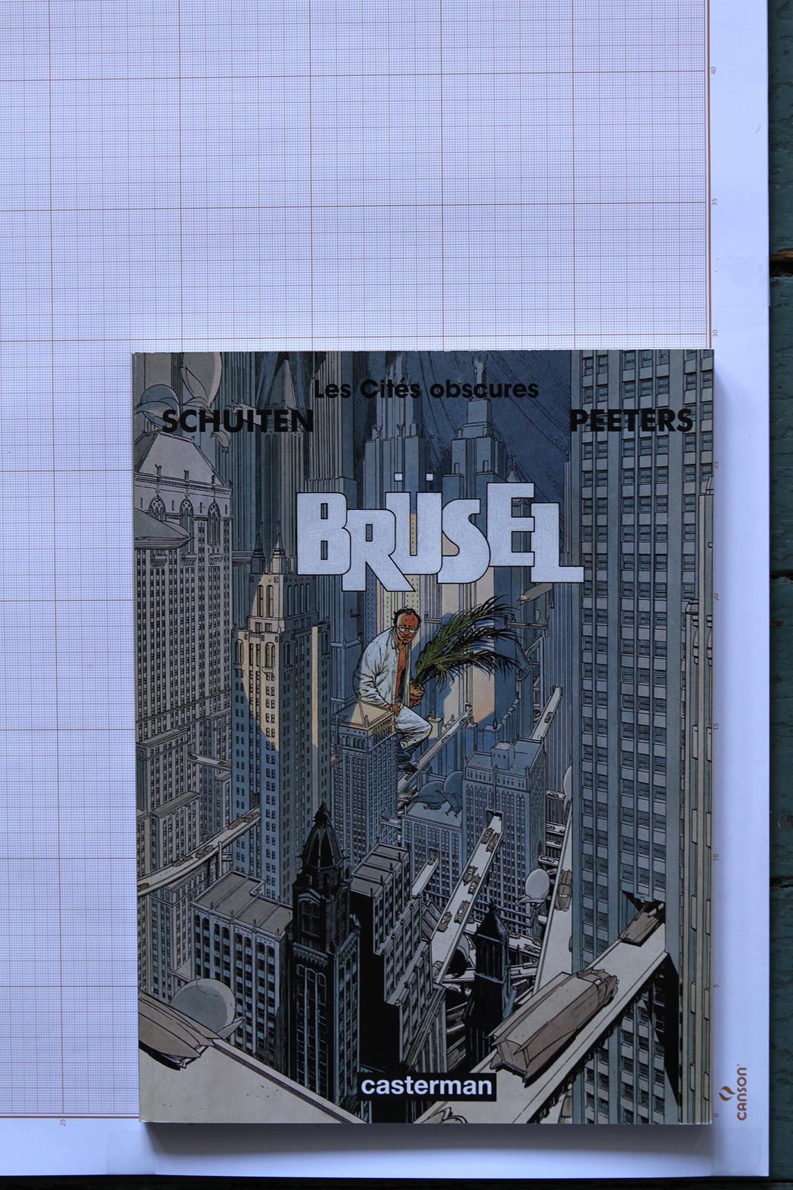 Brüsel, F.Schuiten & B.Peeters - Casterman© Maison Autrique, 1997