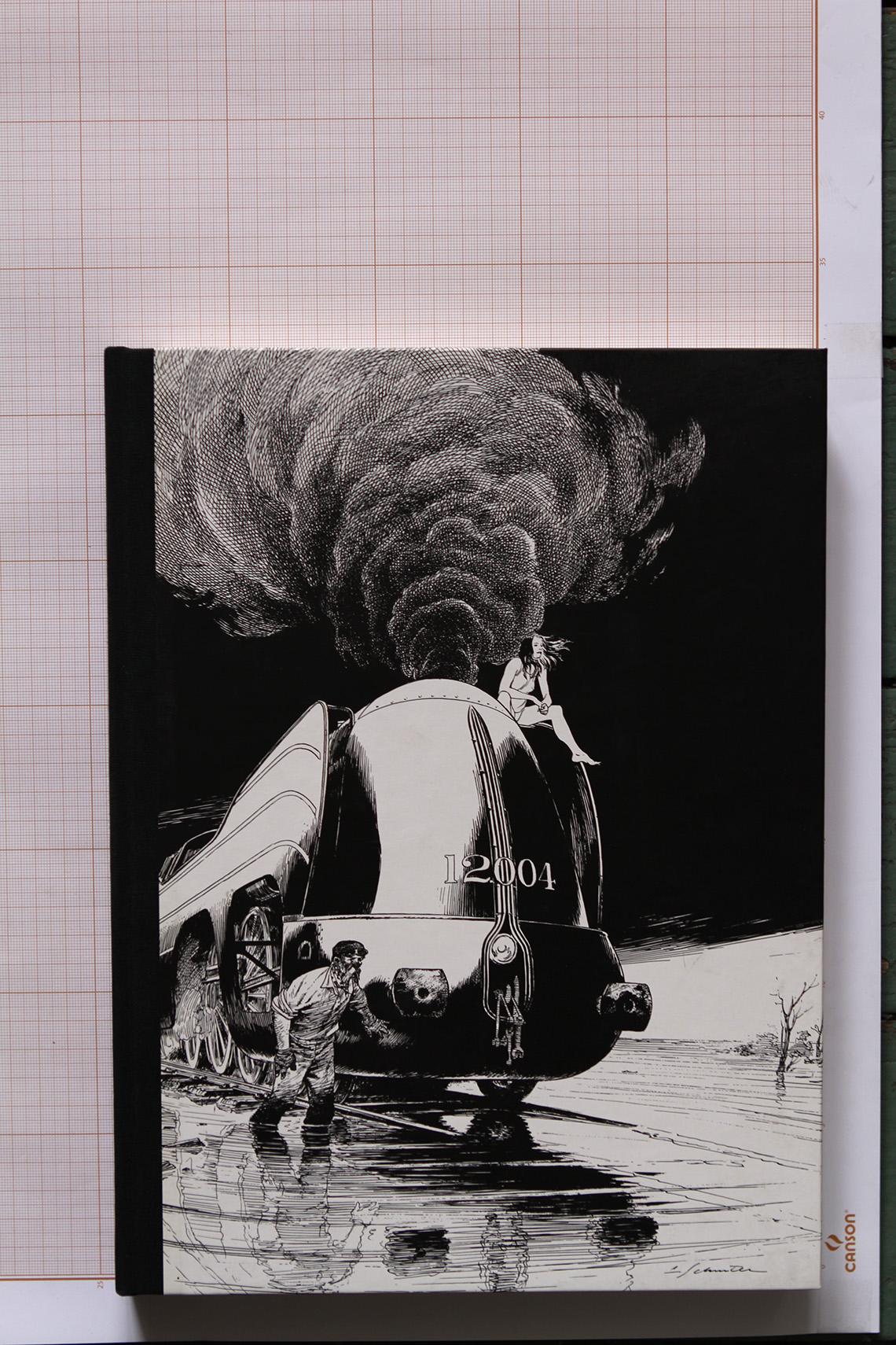 La Douce, F.Schuiten - Bruno Graff© Maison Autrique, 2012