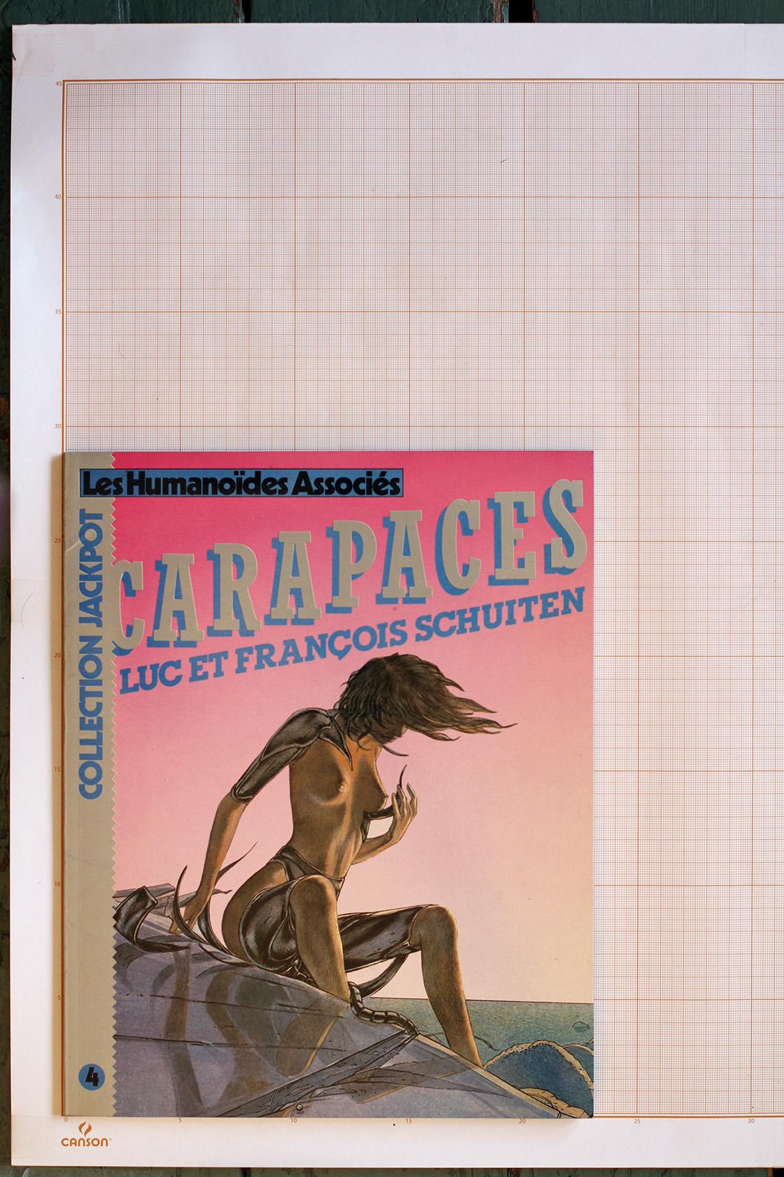 Carapaces, F.Schuiten & L.Schuiten - Humanoïdes Associés© Maison Autrique, 1984