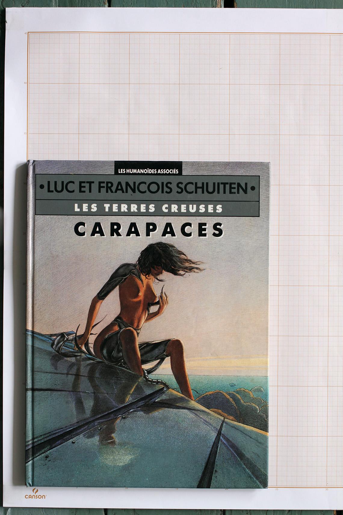 Carapaces, F.Schuiten & L.Schuiten - Humanoïdes Associés© Schuiten, 1994